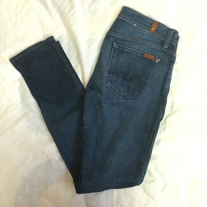 Straight Leg 7 for All Mankind Jeans